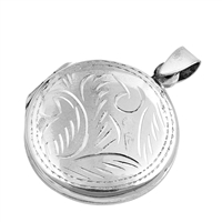 Silver Locket Pendant