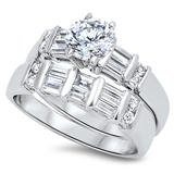 Silver CZ Ring  -  $24.49