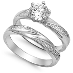 Silver CZ Ring  -  $10.86