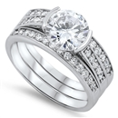 Silver CZ Ring  -  $24.42