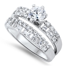 Silver CZ Ring  -  $12.68