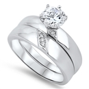 Silver CZ Ring  -  $12.46