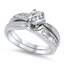 Silver CZ Ring - $12.58