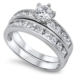 Silver CZ Ring - $11.05