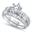 Silver CZ Ring - $11.88