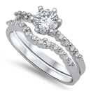 Silver CZ Ring - $9.85