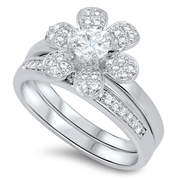 Silver CZ Ring - $22.73