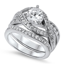 Silver CZ Ring - $25.83