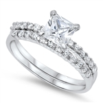 Silver CZ Ring - $7.94