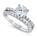 Silver CZ Ring - $8.74
