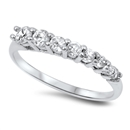 Silver CZ Ring - Journey Ring - $4.75