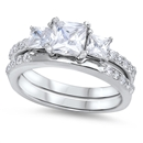 Silver CZ Ring - $11.75