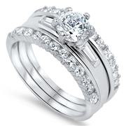 Silver CZ Ring - $14.11