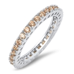 Silver CZ Ring - $6.67