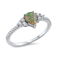 Silver CZ Ring - $4.24