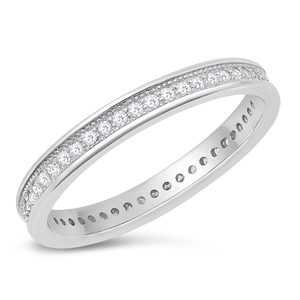 Silver CZ Ring - $4.97