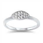 Silver CZ Ring - $4.76