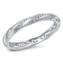 Silver CZ Ring - $6.54