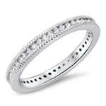 Silver CZ Ring - $5.57