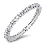 Silver CZ Ring - $4.22