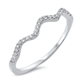 Silver CZ Ring - $3.29