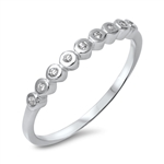 Silver CZ Ring - $3.09