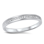 Silver CZ Ring - $4.04