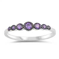 Silver CZ Ring - $4.21