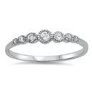 Silver CZ Ring - $3.39