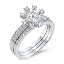 Silver CZ Ring - $9.99