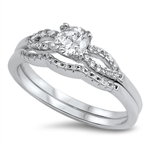 Silver CZ Ring - $9.35