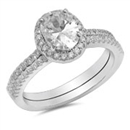 Silver CZ Ring - $8.89