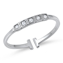 Silver CZ Ring - $2.87