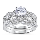 Silver CZ Ring - $14.26