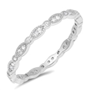 Silver CZ Ring - $4.19