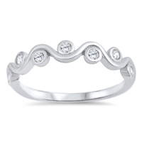 Silver CZ Ring - $3.59