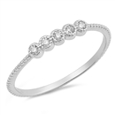 Silver CZ Ring - $2.72