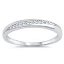 Silver CZ Ring - $3.70