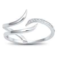Silver CZ Ring - $4.01