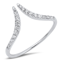 Silver CZ Ring - $3.37