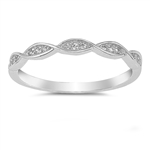 Silver CZ Ring - $4.11