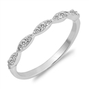 Silver CZ Ring - $4.23