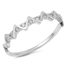 Silver CZ Ring - $3.33