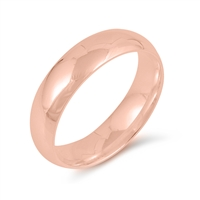 Silver Wedding Band - 5MM
