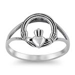 Silver Ring - Claddagh  -  $3.28