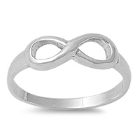 Silver Ring - Infinity Sign - $3.12