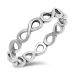 Silver Ring - Infinity - $2.75