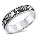 Silver Ring - Doves - $4.69