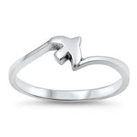 Silver Ring - Flying Dove - $2.78
