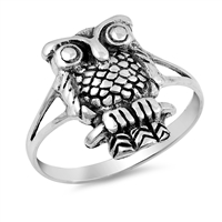 Silver Ring - Owl - $4.00